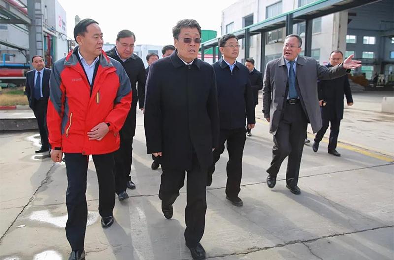 王玉君到临沭县调研县域经济发展情况